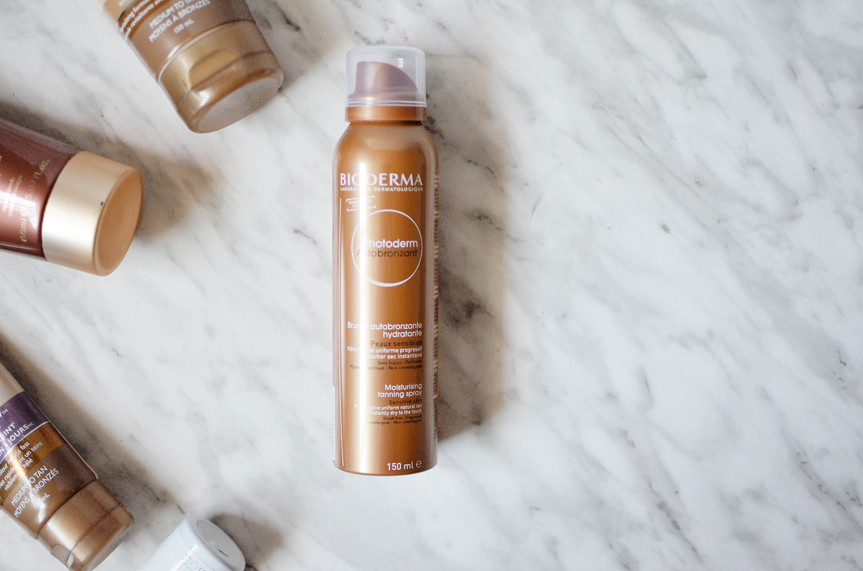Foolproof Self-Tanning with Bioderma Photoderm Autobronzant.