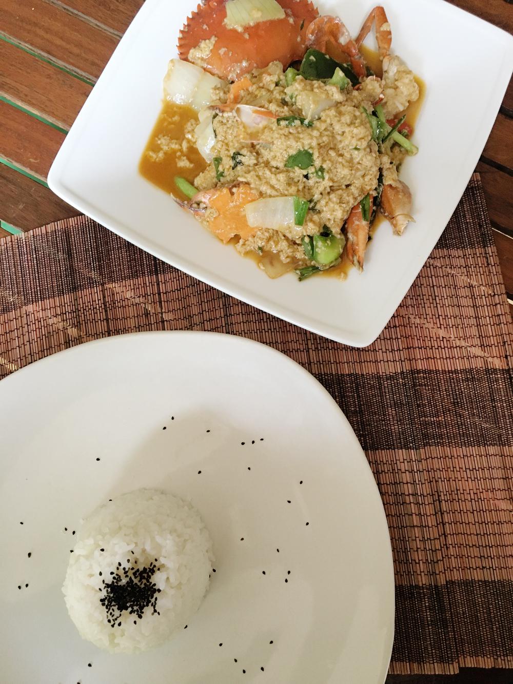 Cambodian Seafood Stir Fry