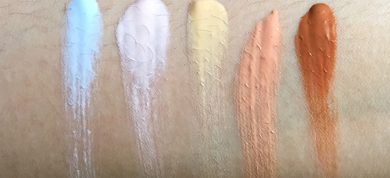 Make Up For Ever Step 1 Skin Equalizer Swatches