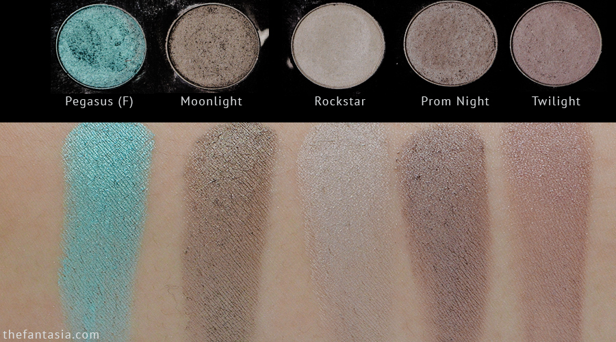 Makeup Geek Eyeshadow Collection & Swatches